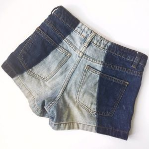 Nasty Gal   Two-Tone Shorts